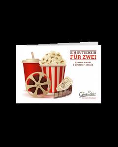 Downloadgutschein Kino für Zwei