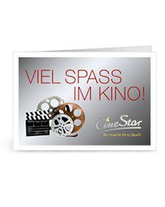 """Downloadgutschein """"Viel Spaß im Kino"""""""