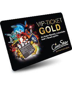 VIP-Ticket Gold 2D