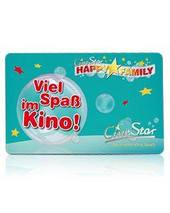"""Geschenkkarte """"Viel Spaß im Kino für Jungen"""""""