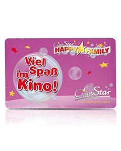 """Geschenkkarte """"Viel Spaß im Kino für Mädchen"""""""