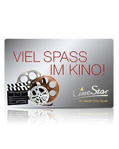 """Geschenkkarte """"Viel Spaß im Kino"""""""